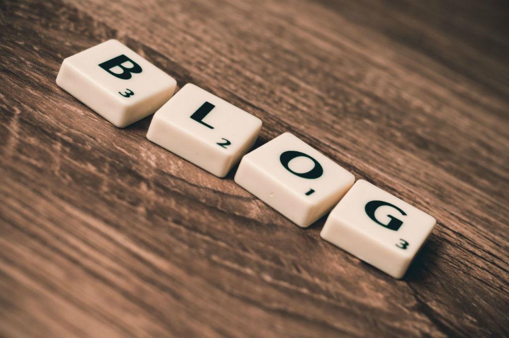 Blog en lettre de Scrabble