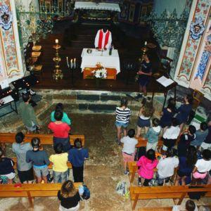 Messe à la chapelle des Vernettes