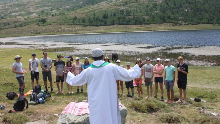 Le lac de Nino, un lieu propice à la méditation