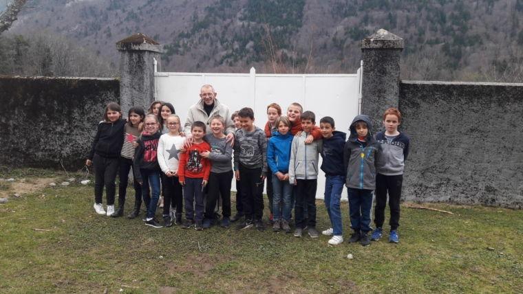 Retraite à Tamié pour les enfants des Coteaux du Revard