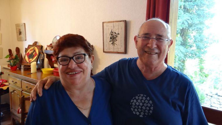 Gilda et Jean-Claude CUMBO: la joie de l'amour