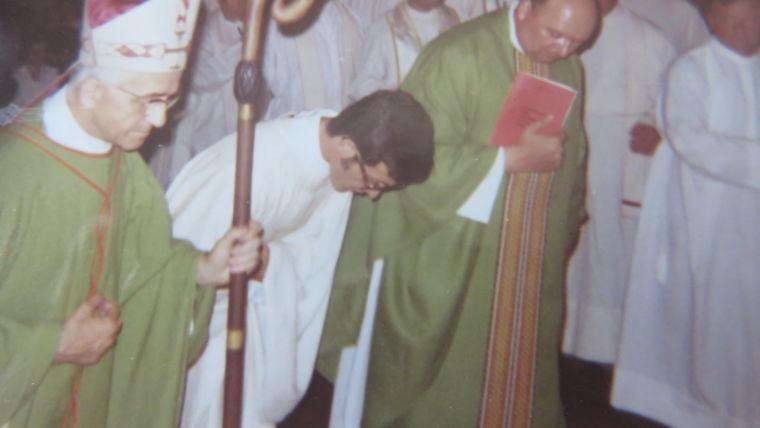 49ème anniversaire d'ordination du Père Rémi DOCHE. 10 juillet 1971. 10 juillet 2020.