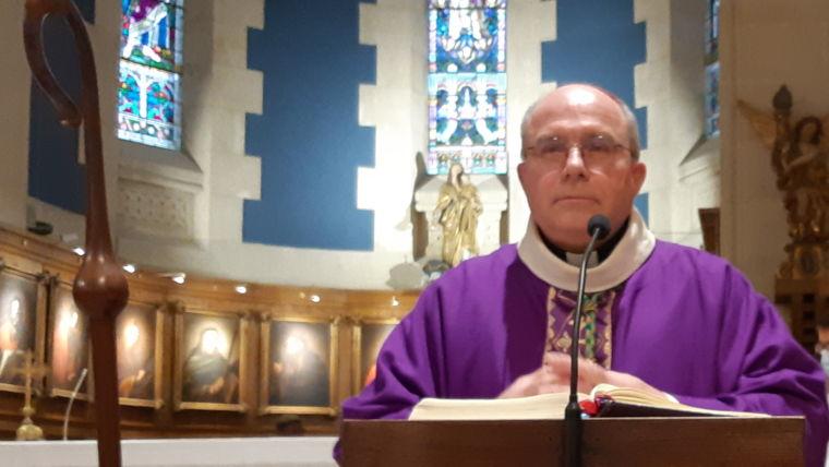 Messe d'installation des Pères Vincent Coutin et Alvaro Alves Dos Santos