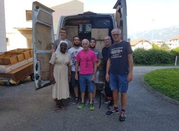 déménagement des sœurs de Saint Joseph